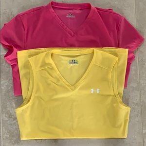 Under Armour Workout Shirts - Set of 2